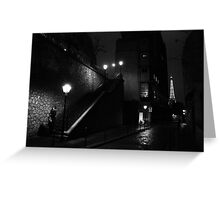 Paris - Whodunit. Greeting Card
