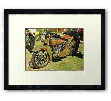 1926 JD Harley Davidson Framed Print