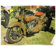 1926 JD Harley Davidson Poster