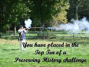 Preserving History Challenge Banner by Monnie Ryan