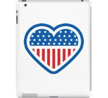 American Patriot Heart iPad Case/Skin