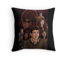 CW Flash Throw Pillow