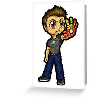 I Am Iron Man Greeting Card