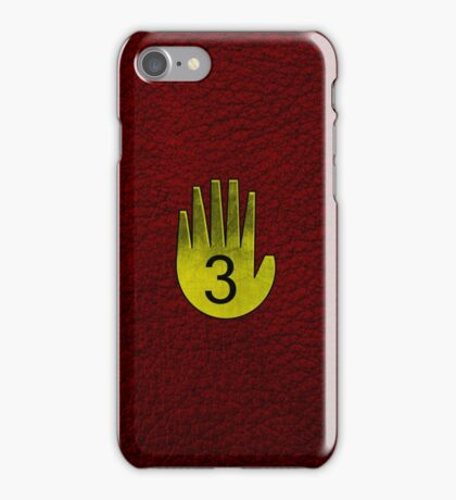 Journal Three iPhone Case/Skin