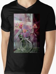 Still Life With Ribbed Glass Mens V-Neck T-Shirt