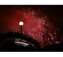 Disney magic in the night Photographic Print