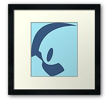 pokemon absol anime manga shirt Framed Print