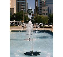 Downtown OKC Photographic Print