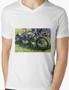 Indian Bobber Mens V-Neck T-Shirt