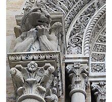 Gargoyle on St. John Nepomocene Church Photographic Print