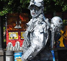 Who says a tin man can't have a heart? by kathrynjoyphoto