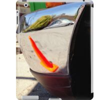 Caution Bumper Bumped - Front iPad Case/Skin