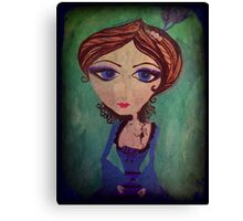 imperfect doll Canvas Print