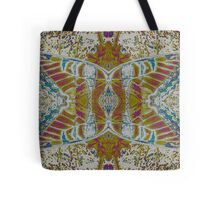 Moth in Earth Tones Tote Bag
