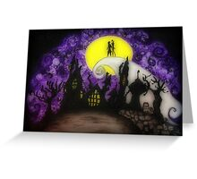 """Nightmare Before Christmas """"Forever"""" Greeting Card"""