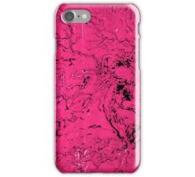 Old and Ancient Tree - Hot Pink  iPhone Case/Skin