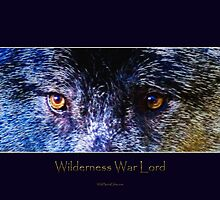 Grey Wolf Eyes III Art Poster by Skye Ryan-Evans