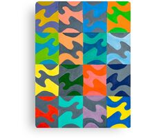 Tessellation Craze Canvas Print