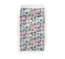 Colorful Cupcakes Duvet Cover