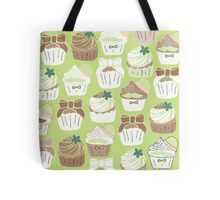 Matcha Green Tea Cupcakes Tote Bag
