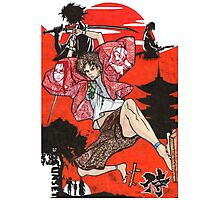 Samurai Champloo Transparent Ver Photographic Print