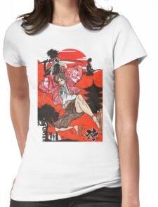 Samurai Champloo Transparent Ver Womens Fitted T-Shirt