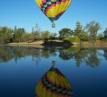 California Balloon by Larry Martinez