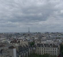 View of Paris from the Pompidou Centre by Brian Middleton