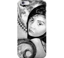 The other girl under the sea in BW  iPhone Case/Skin