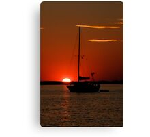 Wow! Canvas Print