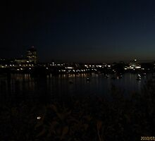 Gatineau at Night by qbasicer