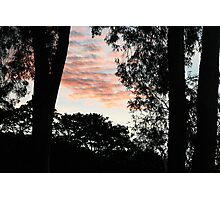 Last Light - As the Sun Leaves the Earth Photographic Print