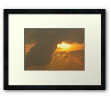 Sun Games Framed Print