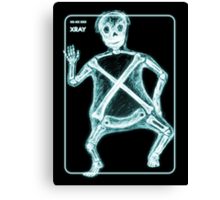 X is for X-Ray Canvas Print