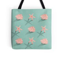 Conch & Starfish Tote Bag