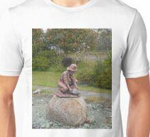 Gold Panning, Zeehan, Tasmania, Australia Unisex T-Shirt