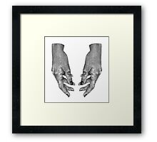 Hands of the Moon Framed Print
