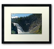 Kinuso Falls Framed Print