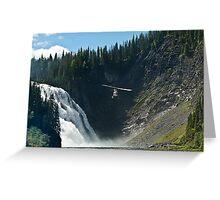 Kinuso Falls Greeting Card