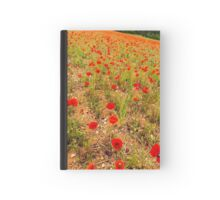 Poppies, poppies, poppies Journals Hardcover Journal