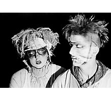 Dead Eyes Open ... a video shoot for Severed Heads at Art Unit 1983 Photographic Print