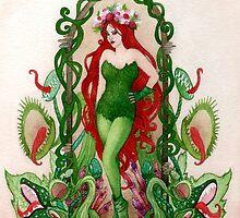Art Nouveau Ivy by painted-lizard