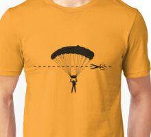 Cut along the line Unisex T-Shirt