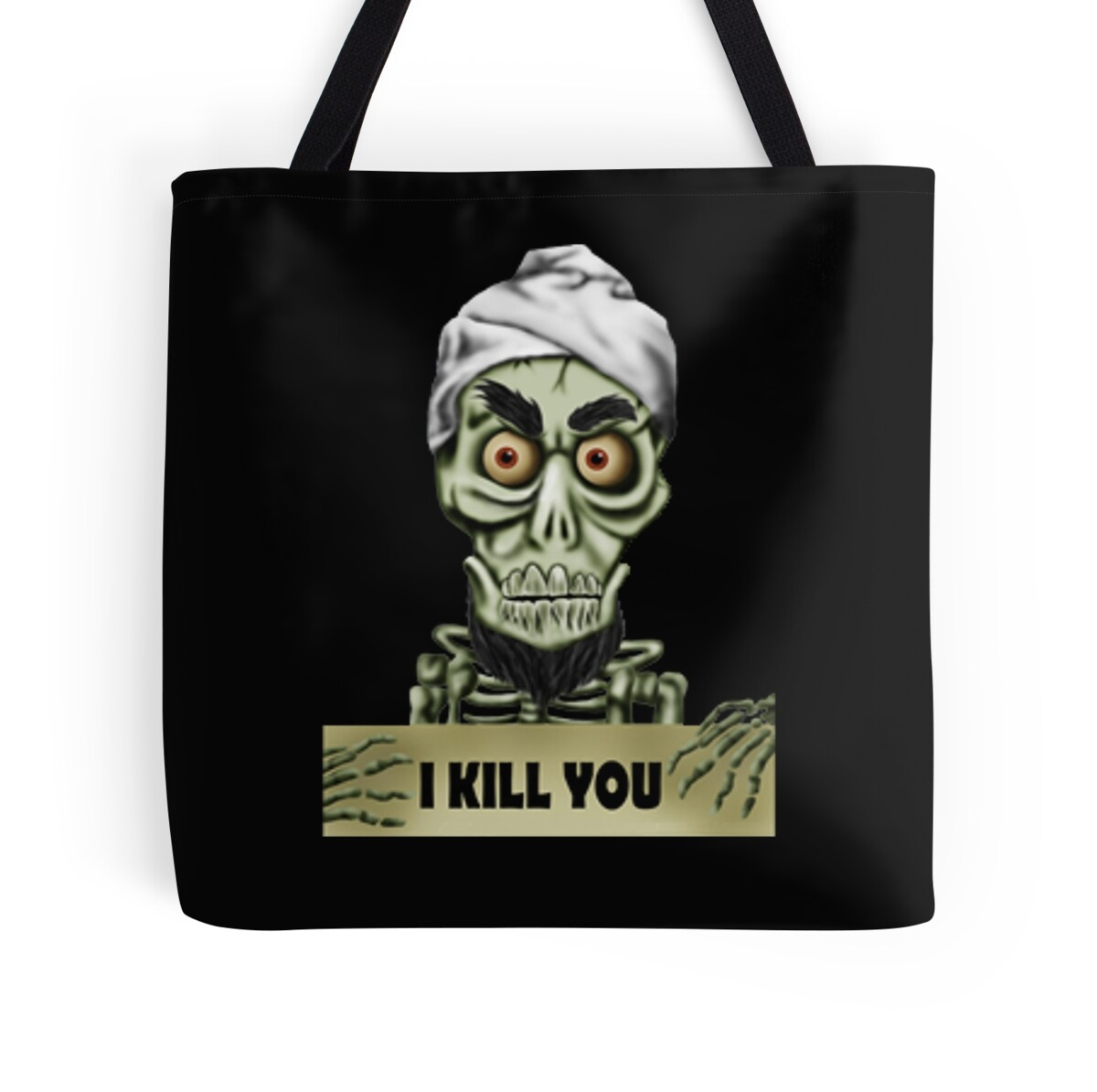 Achmed the dead terrorist tote bags by alecampa redbubble for Achmed the dead terrorist halloween decoration