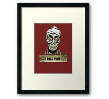 Achmed the dead terrorist Framed Print