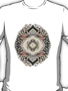 Radial Typography  T-Shirt