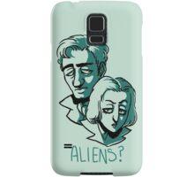Aliens? Samsung Galaxy Case/Skin