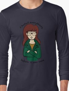 Daria, the Original Hipster Long Sleeve T-Shirt