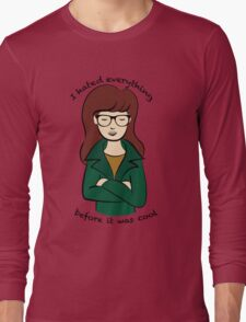 Daria, the Original Hipster Long Sleeve T-Shirt