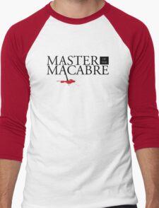 Master of the Macabre Men's Baseball ¾ T-Shirt